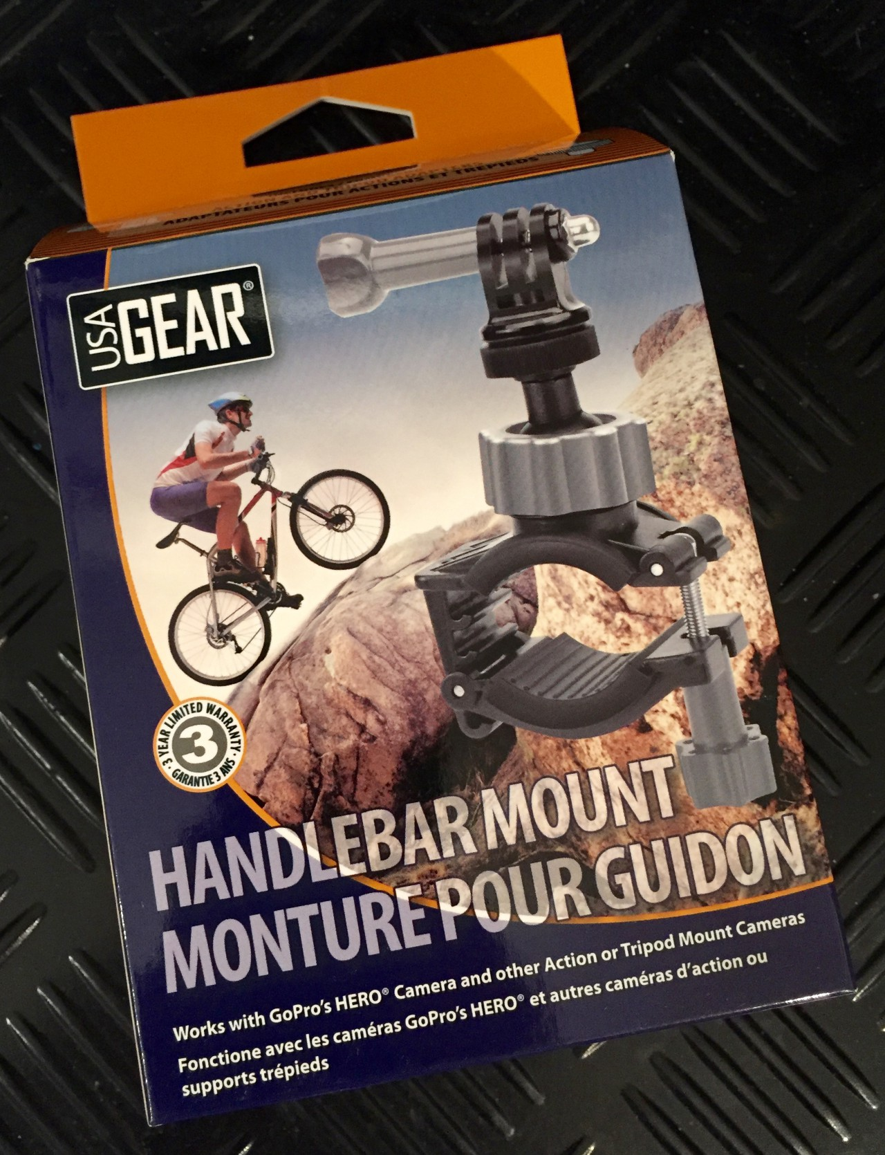 USA Gear - HandlebarMount